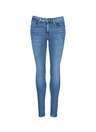 Main View - Click To Enlarge - Alexander Wang  - 'Whip' washed slim fit jeans