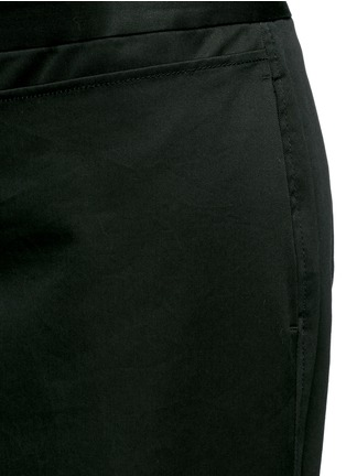 Detail View - Click To Enlarge - 3.1 Phillip Lim - Apron front twill cropped pants
