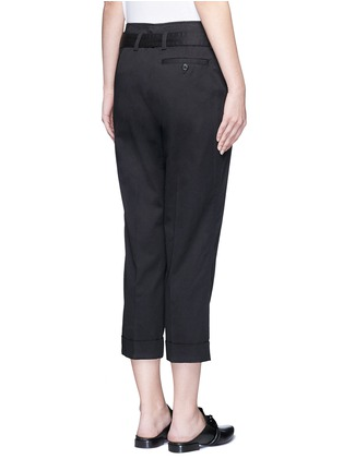 Back View - Click To Enlarge - 3.1 Phillip Lim - Belted twill cropped utility pants