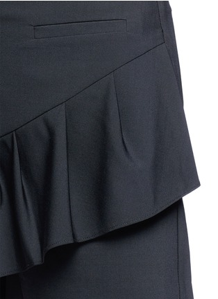 Detail View - Click To Enlarge - Tibi - Tropical wool pleated skort