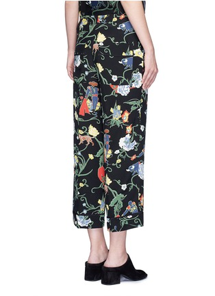 Back View - Click To Enlarge - Tibi - 'Seville' floral print pyjama pants