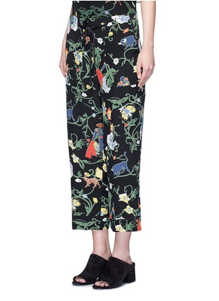 Front View - Click To Enlarge - Tibi - 'Seville' floral print pyjama pants