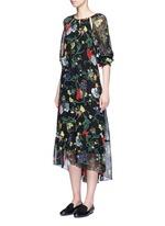 'Josephina' floral print silk chiffon dress