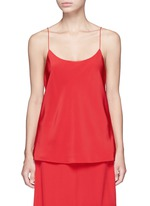 'Kate' silk camisole crepe top
