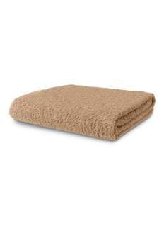 Abyss Super Pile bath sheet - Taupe