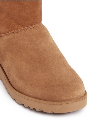 Detail View - Click To Enlarge - Ugg Australia - 'Amie' twinface sheepskin wedge boots