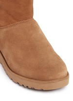 'Amie' twinface sheepskin wedge boots