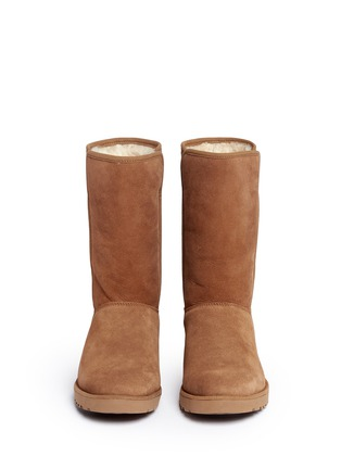 Front View - Click To Enlarge - Ugg Australia - 'Amie' twinface sheepskin wedge boots