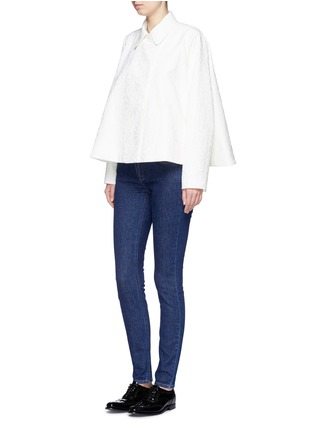 Figure View - Click To Enlarge - VICTORIA, VICTORIA BECKHAM - 'VB1 Superskinny' jeans