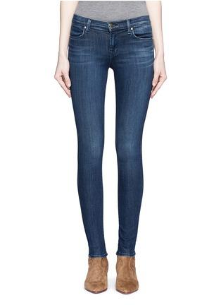 J Brand-'Super Skinny' whiskered jeans