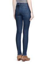 'Super Skinny' whiskered jeans