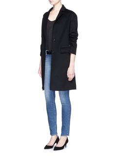 J Brand'Skinny Leg' whiskered jeans