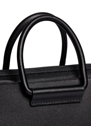 Detail View - Click To Enlarge - The Row - 'Classic' pebble calf leather