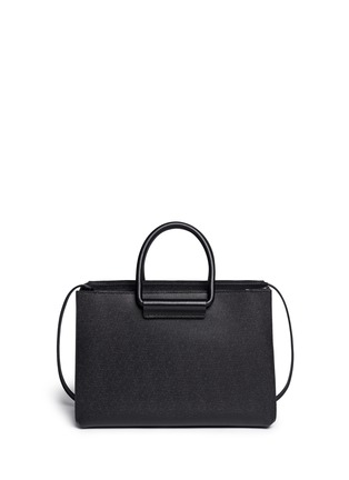Back View - Click To Enlarge - The Row - 'Classic' pebble calf leather