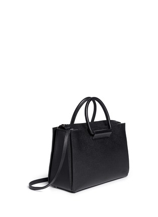 Figure View - Click To Enlarge - The Row - 'Classic' pebble calf leather