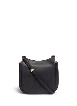 首图 - 点击放大 - THE ROW - 'Hunting' large grainy leather shoulder bag