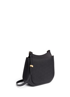 THE ROW 'Hunting' large grainy leather shoulder bag