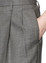 'Caray' stretch wool suiting pants