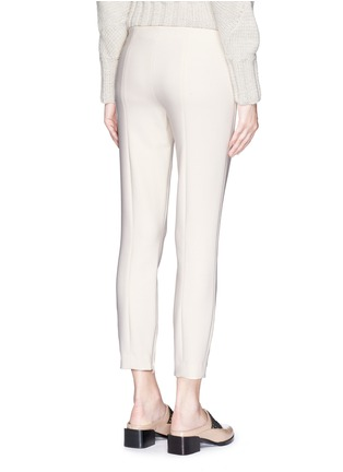 The Row - 'Chandra' seam front stretch scuba cropped pants