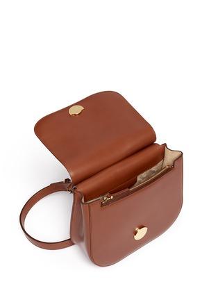 细节 - 点击放大 - THE ROW - 'Hunting' small leather shoulder bag