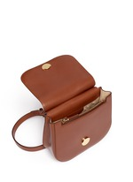 'Hunting' small leather shoulder bag