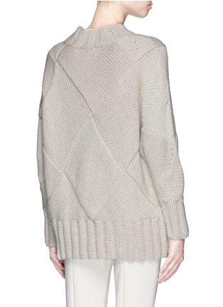 背面 - 点击放大 - THE ROW - 'Bettie' oversize cashmere knit sweater