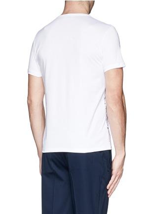 背面 - 点击放大 - MONCLER - MAGLIA手绘纯棉T恤