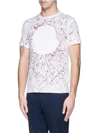 正面 -点击放大 - MONCLER - MAGLIA手绘纯棉T恤