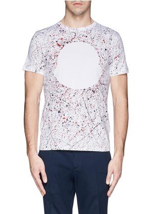 首图 - 点击放大 - MONCLER - MAGLIA手绘纯棉T恤
