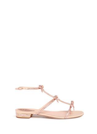 首图 - 点击放大 - RENÉ CAOVILLA - Strass pavé satin sandals