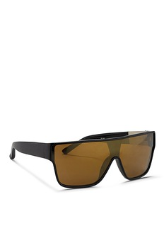 3.1 PHILLIP LIMx Linda Farrow flat top acetate mask sunglasses