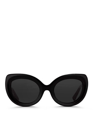 Main View - Click To Enlarge - 3.1 Phillip Lim - Acetate chunky cat eye sunglasses
