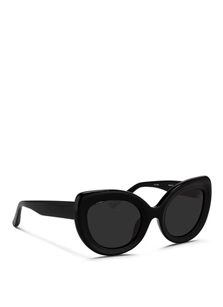 Figure View - Click To Enlarge - 3.1 Phillip Lim - Acetate chunky cat eye sunglasses