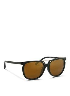 3.1 PHILLIP LIMx Linda Farrow acetate D-frame sunglasses