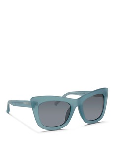 3.1 PHILLIP LIMFrosted acetate cat eye sunglasses