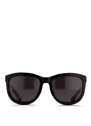 Main View - Click To Enlarge - The Row - x Linda Farrow tortoiseshell temple acetate sunglasses