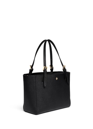 Front View - Click To Enlarge - Tory Burch - 'York' small saffiano leather buckle tote