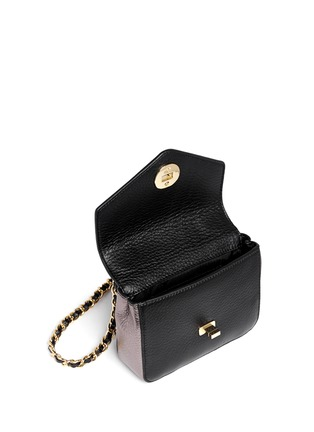Detail View - Click To Enlarge - Tory Burch - Kira' mini chain shoulder bag