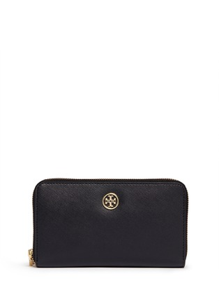 Main View - Click To Enlarge - Tory Burch - 'Robinson' double zip continental wallet