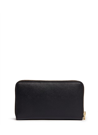Figure View - Click To Enlarge - Tory Burch - 'Robinson' double zip continental wallet