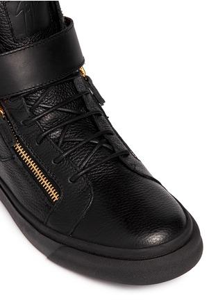 Giuseppe Zanotti Design-'London' metal eagle leather sneakers