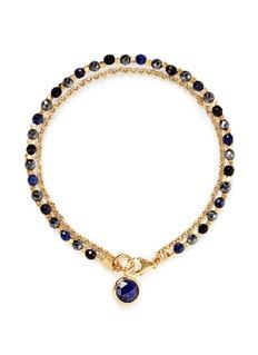 ASTLEY CLARKE'Be Very Mysterious' 18k gold lapis lazuli friendship bracelet - Mystery & Protection