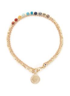 ASTLEY CLARKE'Cosmos' 18k gold rainbow gemstone friendship bracelet - Freedom & Wellbeing