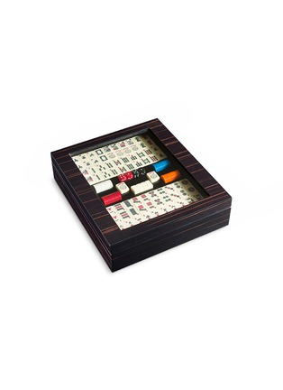 Agresti - Ebony wood mahjong box