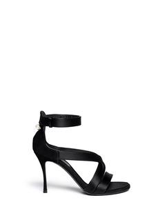 NICHOLAS KIRKWOODSuspended pearl suede sandals