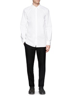 HELMUT LANGTech poplin minimalist shirt
