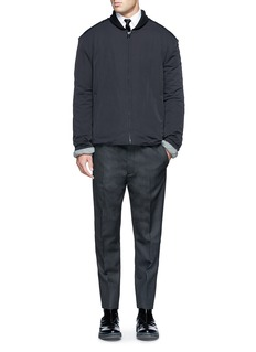 LANVINTaper leg wool pants