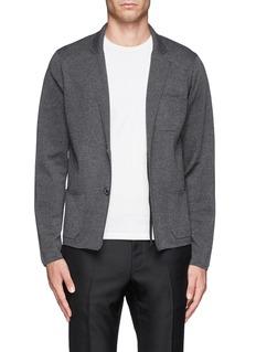 LANVINPatch pocket Merino wool cardigan