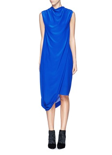 ACNE STUDIOS'Pauli' drape layer crepe dress
