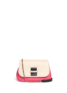 SEE BY CHLOÉ 'Rosita' colourblock shoulder chain leather bag